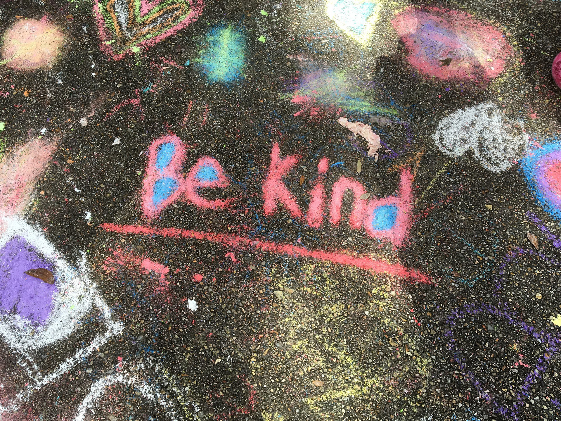kindness grafitti