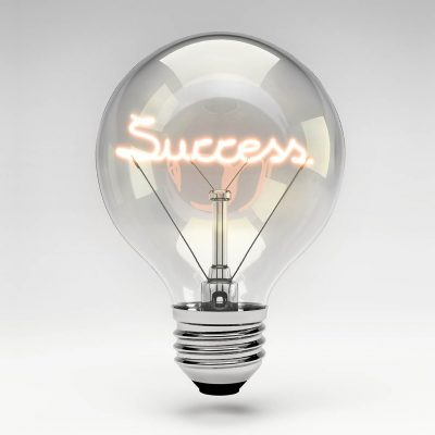 SUCCESS LIGHTBULB